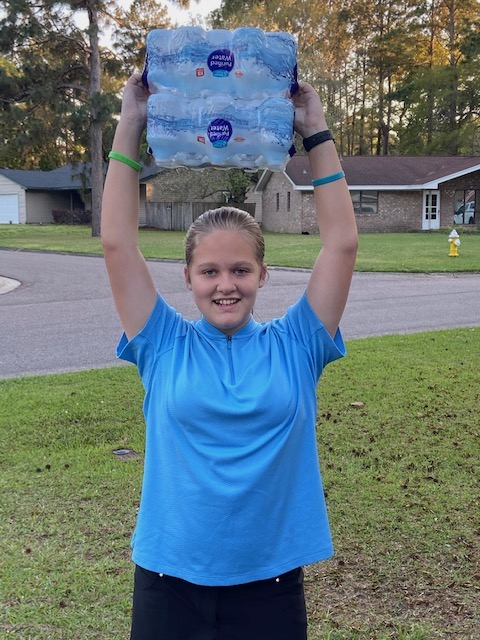 Pinewood student Kiersten Cruse created an effort to serve truck drivers during the COVID-19 crisis.